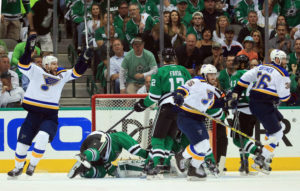 Robby Fabbri scores in Game Seven against the Dallas Stars